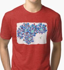 Hover Fly Chrysanths Tri-blend T-Shirt