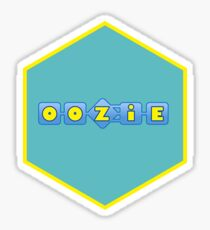 apache oozie hexagonal Sticker