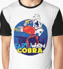 Earth Worm Cobra Graphic T-Shirt