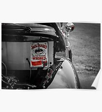 Jack Daniels and cars Poster