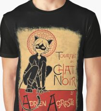 Tournee du Chat Noir Graphic T-Shirt