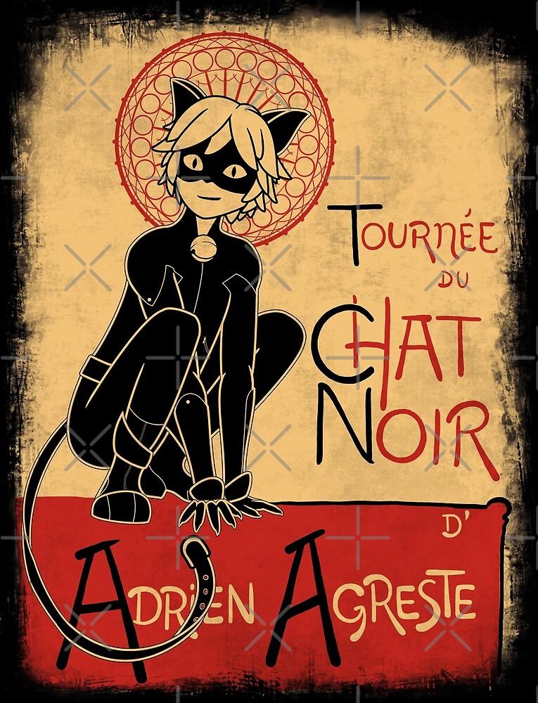 Tournee du Chat Noir by Gallifreya