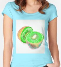 Kiwilicious Women's Fitted Scoop T-Shirt