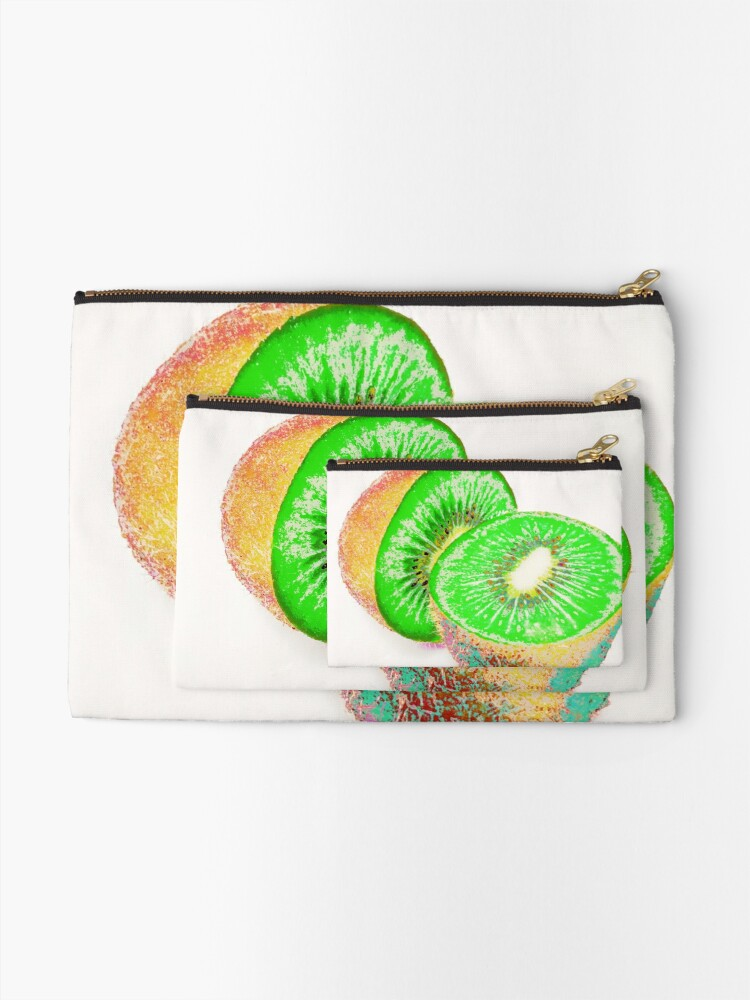 Alternate view of Kiwilicious - Fruit Lover Gift Zipper Pouch