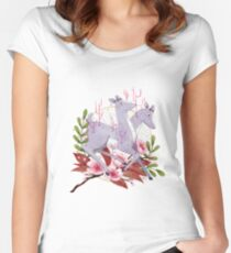 simulacrum Women's Fitted Scoop T-Shirt
