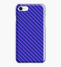 Blue-Pink Carbon Fibre iPhone / Samsung Galaxy Case iPhone Case/Skin