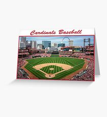 Cardinals Baseball Greeting Card