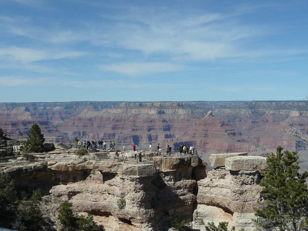 The Grand Canyon View 2 by Jamie Peterson