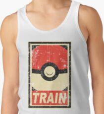 Pokemon train Men's Tank Top