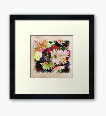 Daisy Vignette Framed Print