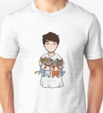 dans space cat nightie Unisex T-Shirt
