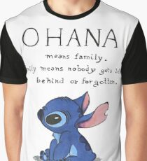 Ohana Means Family Graphic T-Shirt