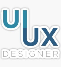 UI UX Designer Sticker