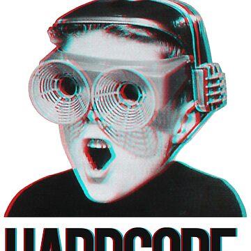Hardcore Meme Boy (3D vintage effect) by Doge21