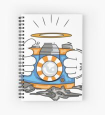DSLR Hand Spiral Notebook