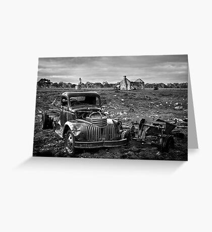 Farm Days Greeting Card
