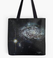 Spiral Galaxy NGC 3021 Tote Bag