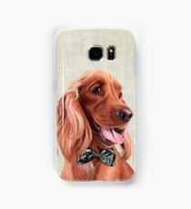 Mr. English Cocker Spaniel portrait Samsung Galaxy Case/Skin