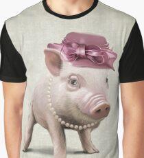 The elegant Miss Piggy Graphic T-Shirt