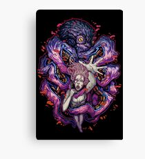 Octopus Monster Canvas Print