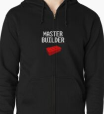 Master Builder Lego Zipped Hoodie