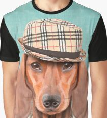 Mr Dachshund Graphic T-Shirt