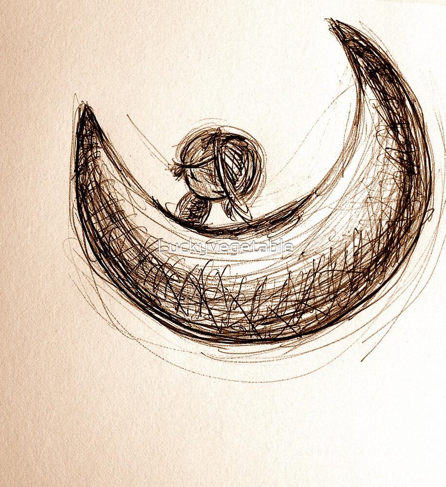 Half Moon by Luckyvegetable