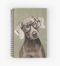 Mr Weimaraner Spiral Notebook