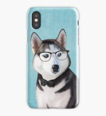 Mr Siberian Husky iPhone Case/Skin