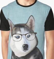 Mr Siberian Husky Graphic T-Shirt