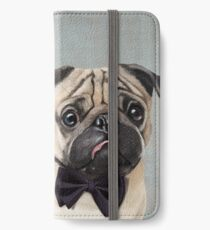 Mr Pug iPhone Wallet/Case/Skin