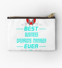 business opearions manager - solve and travel design Studio Pouch