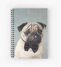 Mr Pug Spiral Notebook