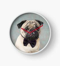 Mr Pug Clock
