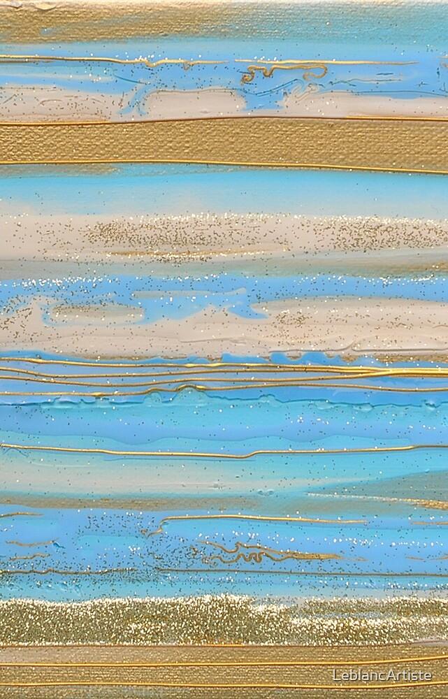 Sur la plage de Castoul Belle-Ile-en-Mer by LeblancArtiste