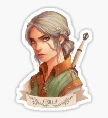 Cirilla Sticker