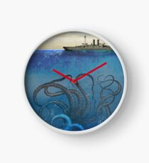Sea Monster Clock