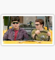Drake And Josh - The Dune Buggy Sticker