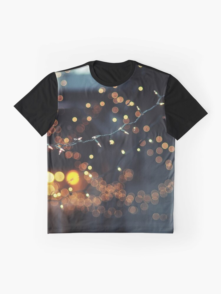 Alternate view of All of the lights Graphic T-Shirt