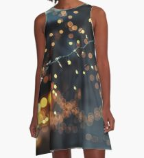All of the lights A-Line Dress
