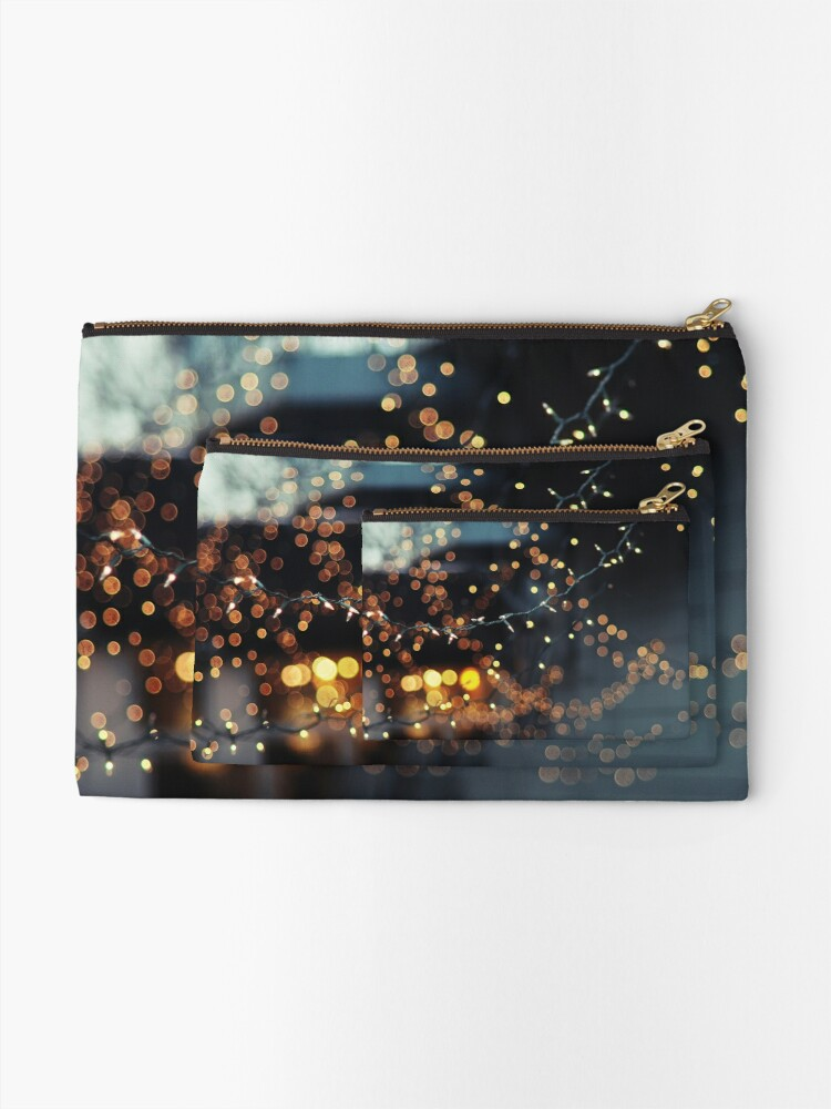 Alternate view of All of the lights Zipper Pouch