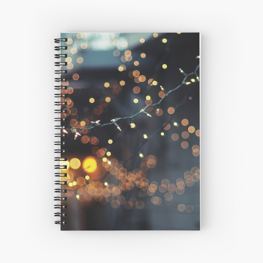 All of the lights Spiral Notebook