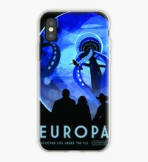 NASA Space Tourism Posters: Europa iPhone-Hülle & Cover
