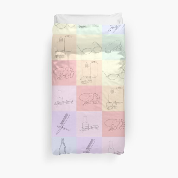 Contour Pop Duvet Cover