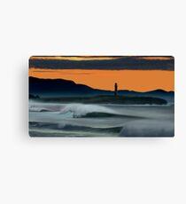 Wollongong Beach @ Dusk Canvas Print