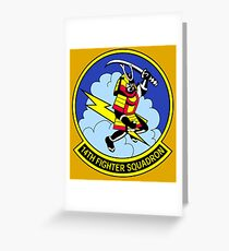 14th Fighter Squadron Greeting Card