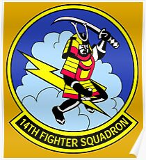14th Fighter Squadron Poster