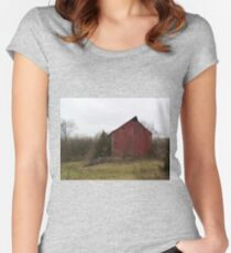 Pastoral prettiness Women's Fitted Scoop T-Shirt