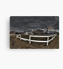 Ranch Motel Canvas Print