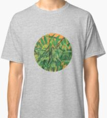 """Ash-tree"", green & yellow, floral art Classic T-Shirt"